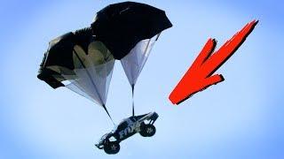Parachutes on Traxxas RC Cars! | Traxxas Underground