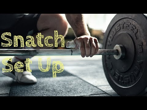 How to Set Up for the SNATCH / Weightlifting by Torokhtiy