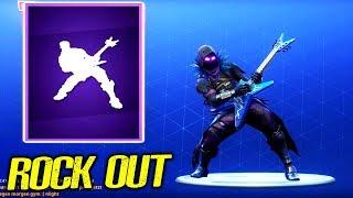 NEW ROCK OUT DANCE/EMOTE (Fortnite Battle Royale) Video