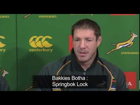 Bakkies Botha returns to Bok Squad