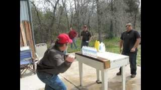 Bladesports Texas Wild Cat Knife Cutting Competition 2 25 2012