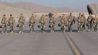 RAF Tornados leave Afghanistan after five years