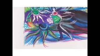 Fashion Sketch - Speed Painting || Mahima Isaacs ||