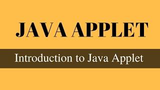 Introduction to Java Applet (Hindi)