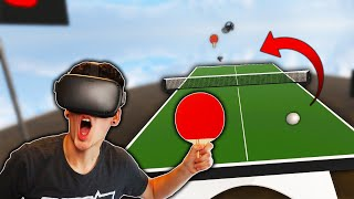 I'M A PRO PING-PONG PLAYER! (Eleven: Table Tennis VR)