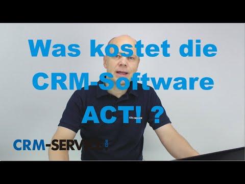 Was kostet die CRM-Software ACT! ? - deutsch
