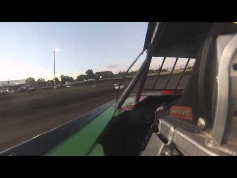 Jacob Poel Fairbury Speedway Prairie Dirt Classic UMP Modified Heat Race 7/27/13