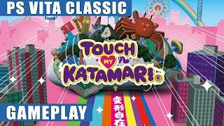 Touch My Katamari PS Vita Gameplay | PS Vita Classic
