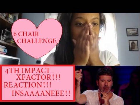 4th Impact - 6th Chair Challenge X FACTOR UK REACTION!! sub ITA - YouTube