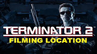 Terminator 2 Filming Location - How It Looks Today - Before and After