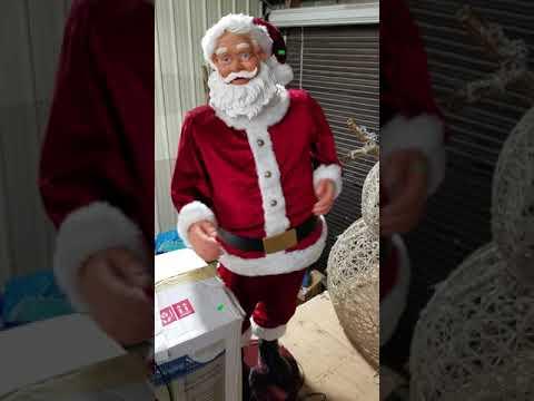 Dancing Singing Santa