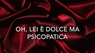 Ava Max - Sweet but Psycho (Traduzione Italiana) 4K