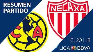 Resumen y Goles | América vs Necaxa | Jornada 8 - Clausura 2020 | Liga BBVA MX