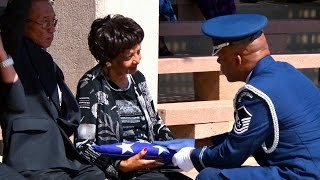 Colonel Paul Green Graveside Service at Riverside National Cemetery HD