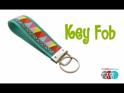 How to Make a Key Fob - TheRibbonRetreat.com