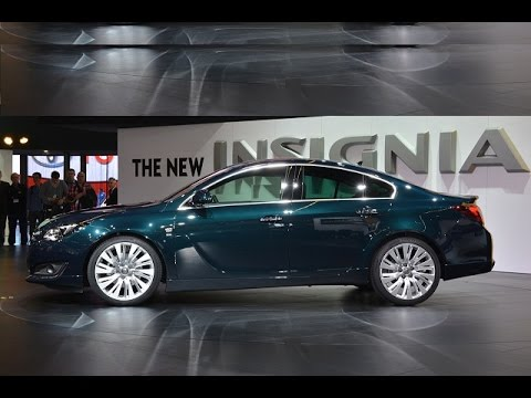 New Opel Insignia 2016 Exterior And Interior