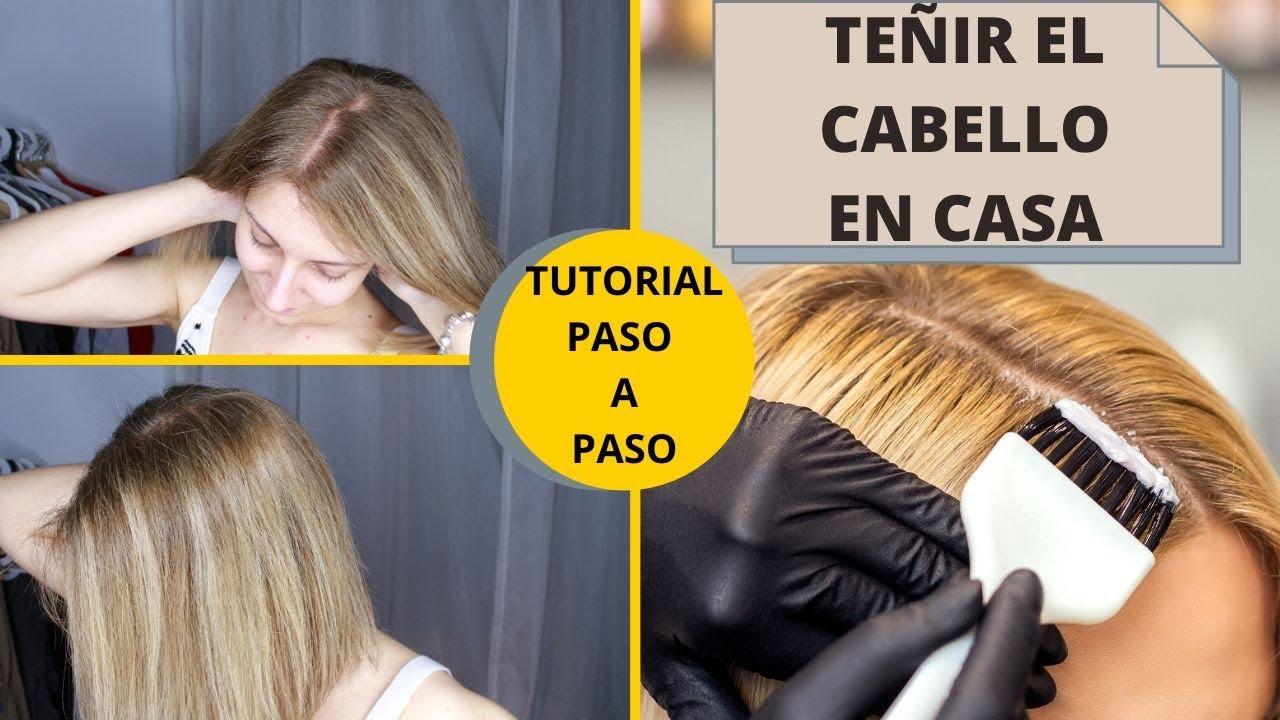 ¿Cómo teñirse el pelo en casa? - Tutorial paso a paso