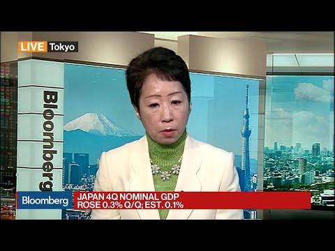 Sayuri Shirai Sees Japan's Economy Growing Moderately