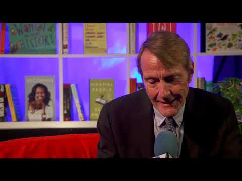 Lee Child on being Author of the Year