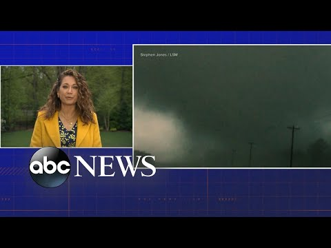 23 reported tornadoes touch down in South in 24 hours
