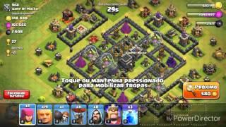 NOVA SÉRIE- Clash of clans. Ataque só com balões!!!