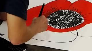 【台湾展示】山口一郎 2018年台湾新作展 flowerシリーズ