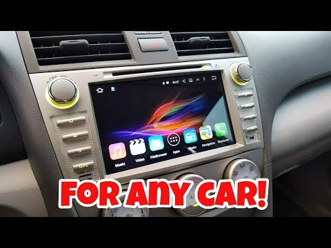 Get A $350 Factory Looking ANDROID Radio On Any Car From 2007 & Up! [Toyota Camry]