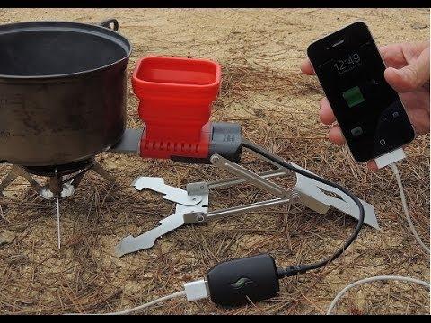Cargá tu celular con fuego