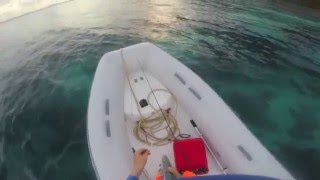 B.V.I Fishing from a sailboat,kayak and an inflatable dinghy