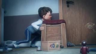 Sarhoş Babanın Çocuğuna uyguladığı Şiddet   kısa animasyon