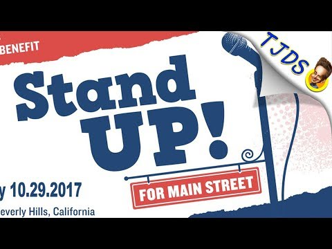 """Stand Up For Main Street"" - Comedians Fight Corporate Power"