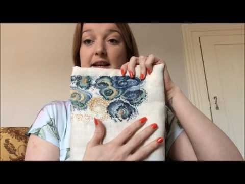 cross stitch flosstube july august 2016/ Cake and ramblings !