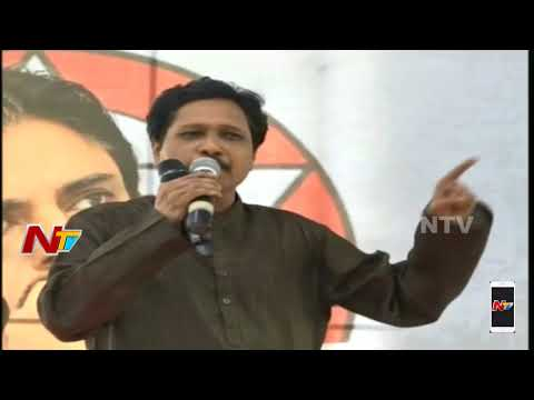 Journalist Association Leader Nalla Dharma Rao Speech At Pawan Kalyan Hunger Strike At Srikakulam