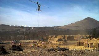 Aerial Mulching in Fourmile Canyon Fire burn area