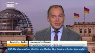 Bon(n)Jour Berlin mit Johannes Leithäuser zum Bahn-Streik am 08.10.2014