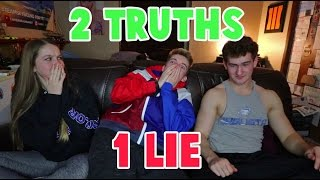 2 TRUTHS 1 LIE CHALLENGE! (FEAT. QUAYLOR)