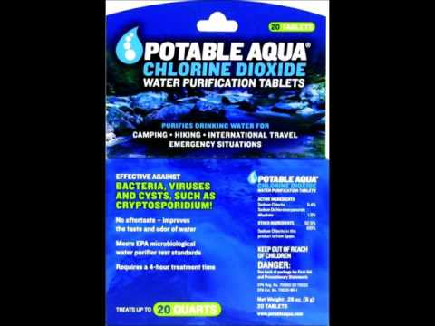Water Purification with Chlorine Dioxide