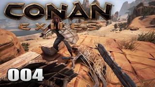 CONAN EXILES [004] [Noch kein Haus aber eine Hyäne als Teppich] [Multiplayer] [Deutsch German] thumbnail