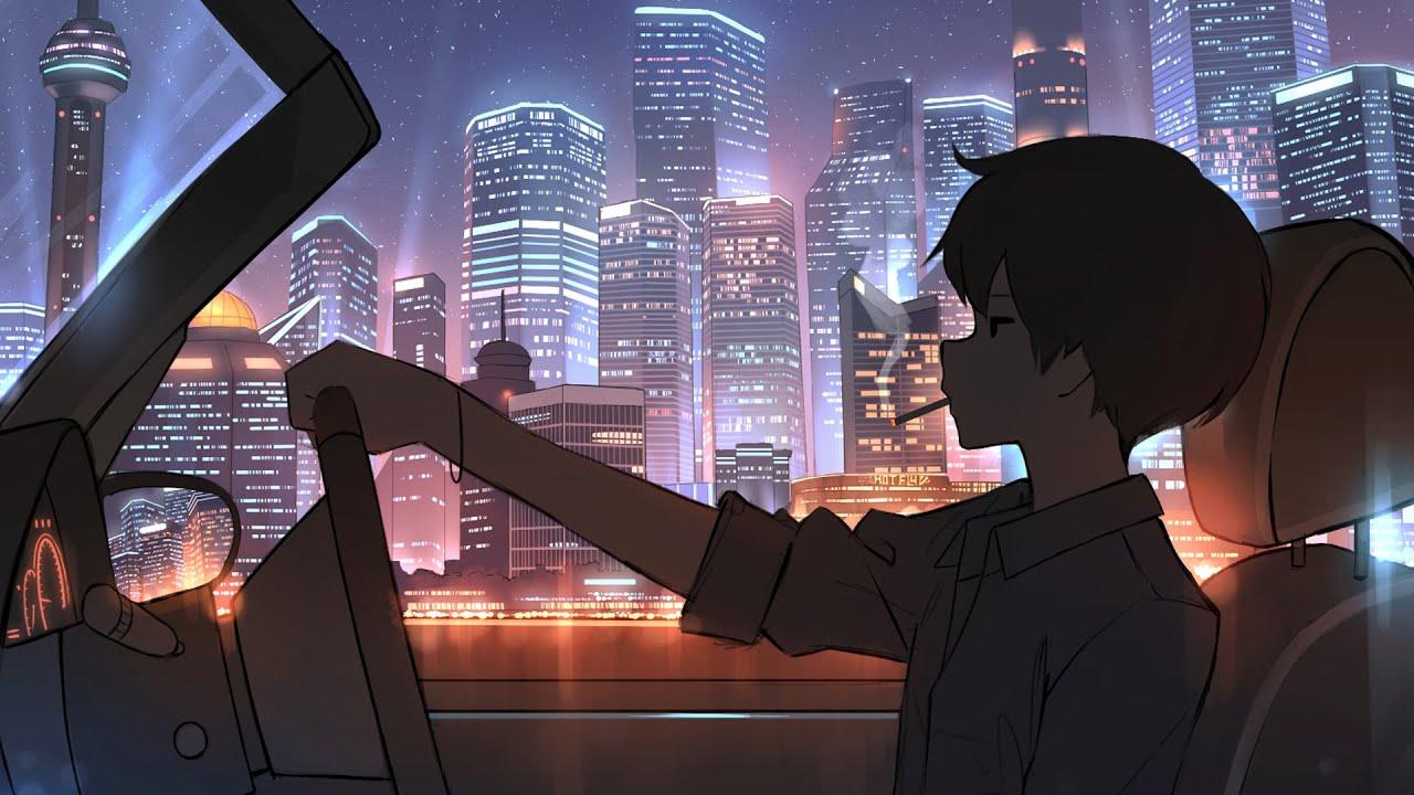 「Nightcore」→ street lights (Ollie)