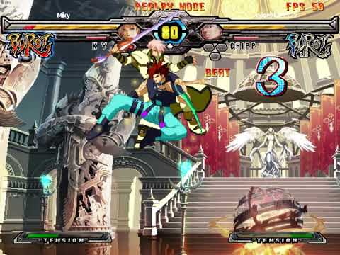 Guilty Gear ACR Deon vs. Miky (2) |