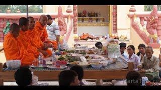 Обряды буддизма: поминки, Камбоджа. Buddhist rites