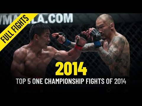 Top 5 ONE Championship Fights Of 2014