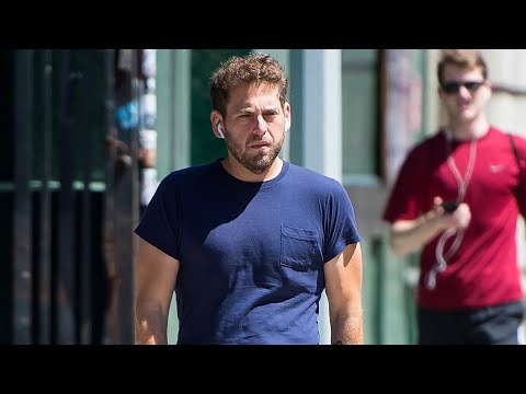SlimmedDown Jonah Hill Looks Fit and Trim for a Casual Stroll in New York City