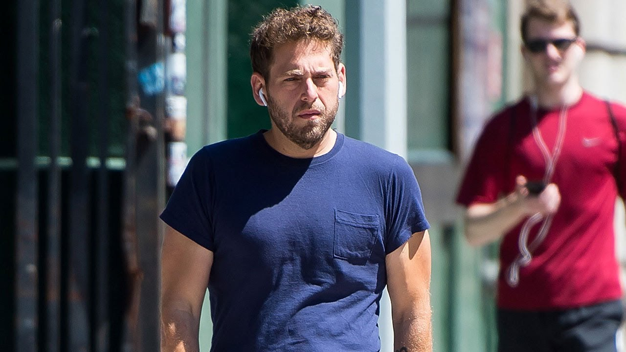 Slimmed-Down Jonah Hill Looks Fit and Trim for a Casual ...
