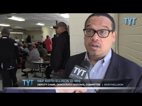 "Keith Ellison to Frustrated Supporters: ""Buck Up!"""