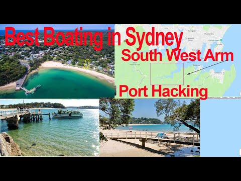 Boating In Sydney In The Port Hacking South West Arm