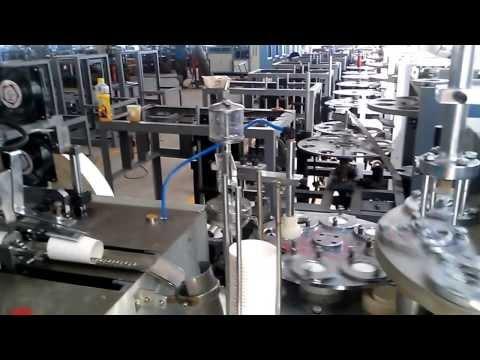 ZB 12A ultrasonic paper cup machine- Ukraine customer