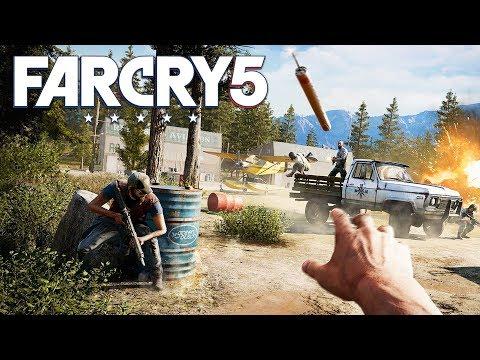 PRISON BREAK!! FAR CRY 5 WALKTHROUGH, PART 3! (Far Cry 5 Gameplay)