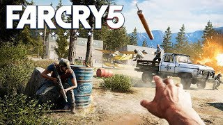 PRISON BREAK!! FAR CRY 5 WALKTHROUGH, PART 3! (Far Cry 5 Gameplay)