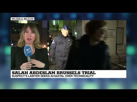 """Salah Abdeslam Trial: """"the suspect's lawyer Sven Marie took the courtroom by surprise"""""""